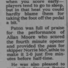 The Courier Report 21/08/1995 (Stranraer(h))