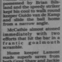 The Courier Report 23/08/1995 (AyrUnited(a))