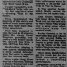 The Courier Report 13/09/1995 (ForfarAthletic(h))