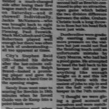 The Courier Report 27/09/1995 (BrechinCity(h))