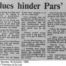 The Courier Report 16/10/1995 (Dundee(h))