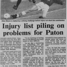 The Courier Report 06/11/1995 (StMirren(h))