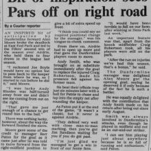 The Courier Report 18/12/1995 (Airdrieonians(h))