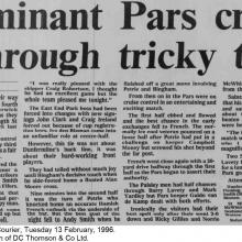 The Courier Report 13/02/1996 (StMirren(h))