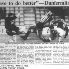 The Courier Report 18/03/1996 (StJohnstone(a))