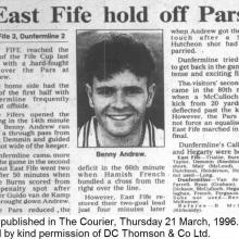 The Courier Report 21/03/1996 (EastFife(a))