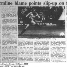 The Courier Report 25/03/1996 (StMirren(h))