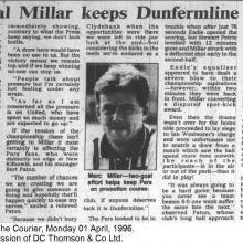 The Courier Report 01/04/1996 (Clydebank(a))