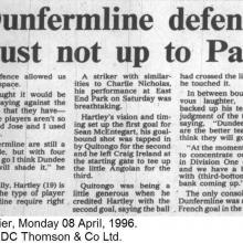 The Courier Report 08/04/1996 (HamiltonAcademical(h))