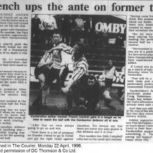 The Courier Report 22/04/1996 (Dumbarton(h))