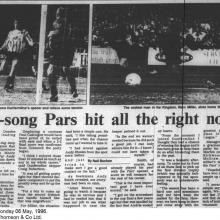 The Courier Report 06/05/1996 (Airdrieonians(h))