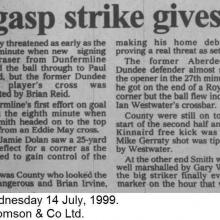 The Courier Report 14/07/1999 (RossCounty(a))