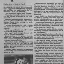 The Courier Report 19/08/1999 (QueensPark(h))