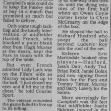 The Courier Report 13/09/1999 (StMirren(h))