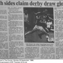 The Courier Report 20/09/1999 (RaithRovers(a))