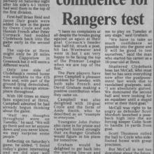 The Courier Report 11/10/1999 (Clydebank(a))