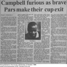 The Courier Report 13/10/1999 (Rangers(a))