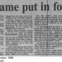 The Courier Report 15/11/1999 (Livingston(h))