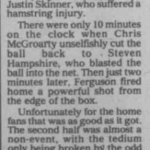 The Courier Report 24/01/2000 (AyrUnited(h))