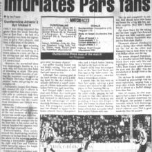 Match Report 28/01/2000 (AyrUnited(h))