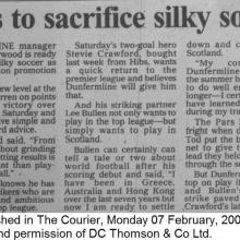 The Courier Report 07/02/2000 (Clydebank(a))
