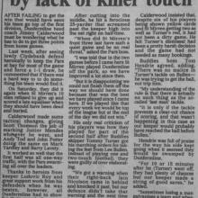 The Courier Report 21/02/2000 (StMirren(h))