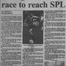 The Courier Report 12/04/2000 (AyrUnited(a))