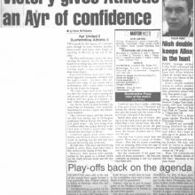 Match Report 14/04/2000 (AyrUnited(a))